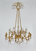 Eighteen-light chandelier