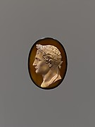Laureate head of Napoleon I of France