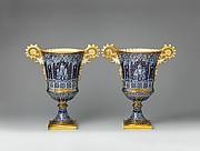 Pair of vases (vases gothique Fragonard)