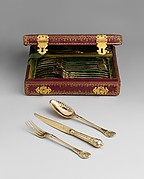 Set of six forks