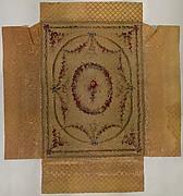 Coverlet for a bed (Lit à la duchesse en impériale)