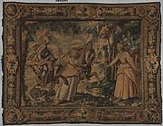 The Combat of Manricardo and Zerbino from a set illustrating Ariosto's Orlando Furioso