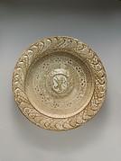 Dish (brasero) with Heraldic Lion