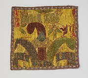 Fragment of textile with Medici emblems