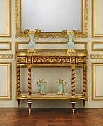Side table (commode servante or commode desserte)