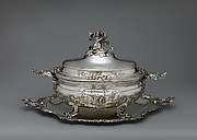 Tureen and stand