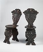 Sgabello (one of a pair)