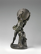 Hercules or Atlas supporting the globe
