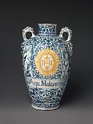 Drug vase (one of a pair)
