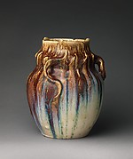 Vase with tendrils