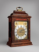 Table clock with calendar