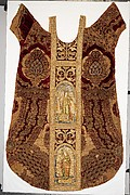 Velvet panels from a chasuble