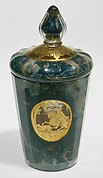 Beaker with medallions with hunting scenes
