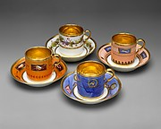 Cups and saucers (3)