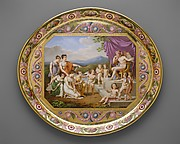 Tray (plateau), part of Breakfast Service (déjeuner)