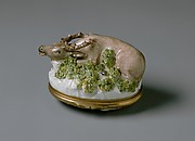 Snuffbox in the Form of a Stag