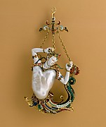 Pendant in the form of a siren