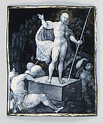 The Resurrection (one of seven plaques)