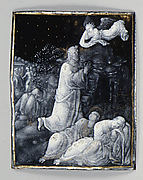 The Agony in the Garden (one of seven plaques)