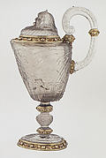 Ewer with cover