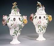 Pair of potpourri vases