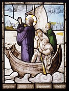 Christ Stilling the Tempest (one of a set of 12 scenes from The Life of Christ)
