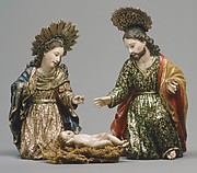 Mary (from a nativity)