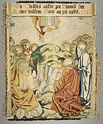 The Ascension from a set of The Passion