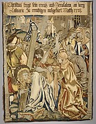 Christ Carrying the Cross from a set of The Passion