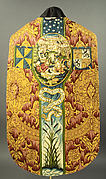 Chasuble with the Gathering of the Manna