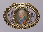 Snuffbox with portrait of a man, probably Prince Karl of Saxony (1733–1796)