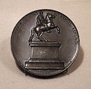 Medal Commemorating the Replacement of the Statue of Louis XIV in the Place des Victoires