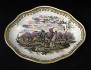 Oval tray (part of a service)