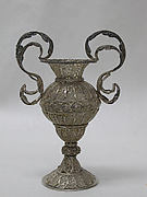 Miniature urn (one of a pair)