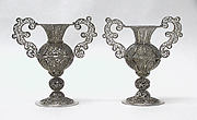 Miniature urn (one of a pair) (part of a set)