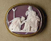 Priam supplicating Achilles for the body of Hector