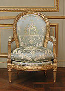 Armchair (Bergère) (one of a pair) (part of a set)