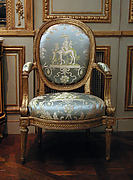 Set of four armchairs (part of a set)