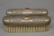 Set of four clothes brushes