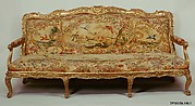 Settee (canapé) (part of a set)