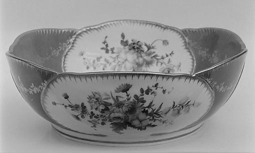 Salad bowl (Saladier) (one of six) (part of a service)