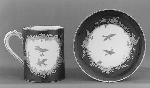 Cup (Gobelet litron) and saucer