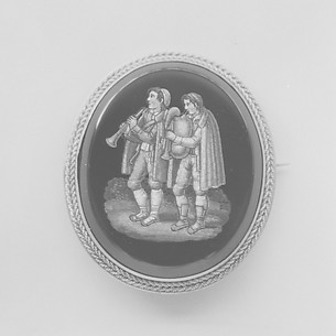 Brooch (part of a set)