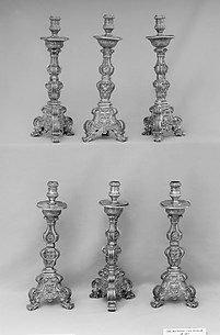 Candlestick (one of a set of six)