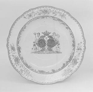 Soup plate (part of a service)