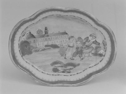 Spoon tray (part of a miniature service)