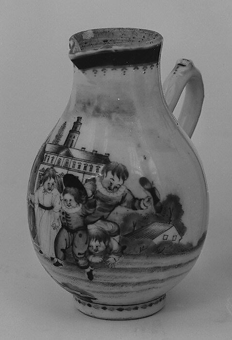 Hot milk jug (part of a miniature service)