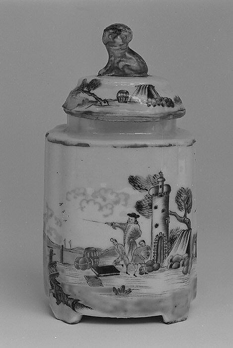 Tea caddy (part of a service)