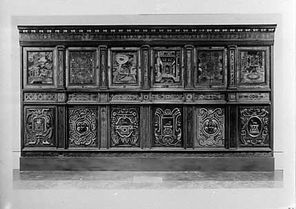 Wainscoting from the Château de la Bâstie d'Urfe