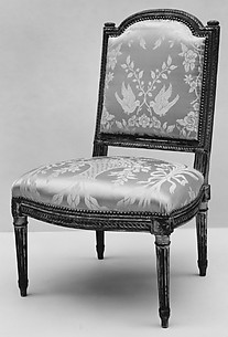 Side chair (Chaise à la reine) (part of a set)